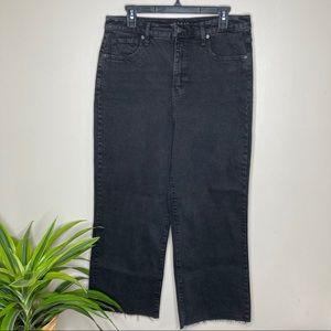 High Rise Skater Vintage Wash Jeans